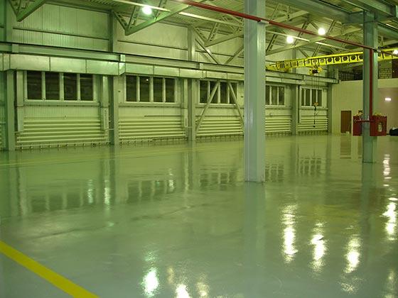 наливные промышленные бетонные полы