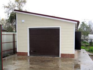Каркасный гараж на 2 машины своими руками